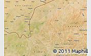 Satellite Map of Thiou
