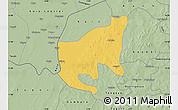 Savanna Style Map of Thiou