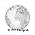 Outline Map of Thiou