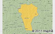 Savanna Style Map of Titao