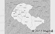 Gray 3D Map of Zoundweogo