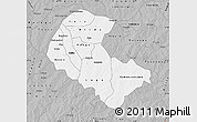 Gray Map of Zoundweogo