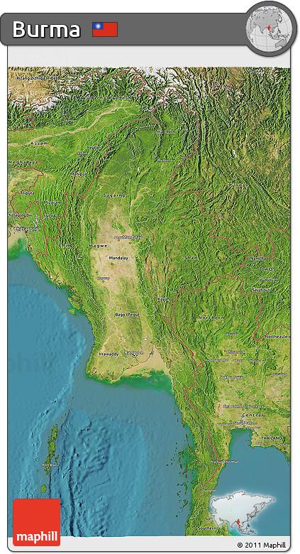satellite image maps free