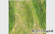 Satellite 3D Map of Bago (Pegu)