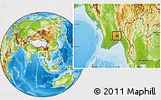 Physical Location Map of Daik-U
