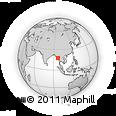 Outline Map of Daik-U