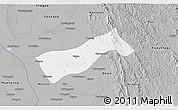 Gray 3D Map of Gyobingauk