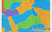Political Map of Gyobingauk
