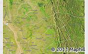 Satellite Map of Gyobingauk