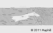 Gray Panoramic Map of Gyobingauk