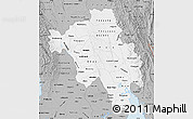 Gray Map of Bago (Pegu)