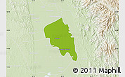 Physical Map of Nyaungiebin, lighten