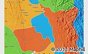Political Map of Nyaungiebin