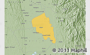 Savanna Style Map of Nyaungiebin