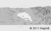 Gray Panoramic Map of Nyaungiebin
