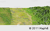 Satellite Panoramic Map of Nyaungiebin