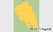 Savanna Style Simple Map of Nyaungiebin