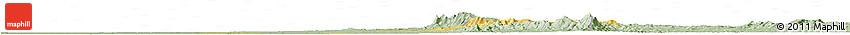 Savanna Style Horizon Map of Okpo
