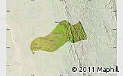 Satellite Map of Okpo, lighten