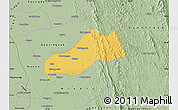 Savanna Style Map of Okpo