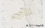 Shaded Relief Map of Okpo, lighten