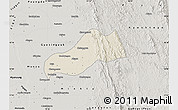 Shaded Relief Map of Okpo, semi-desaturated