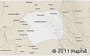 Classic Style 3D Map of Paukkaung