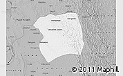 Gray Map of Paukkaung