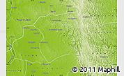 Physical Map of Paukkaung