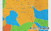 Political Map of Paukkaung