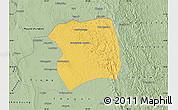 Savanna Style Map of Paukkaung