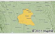 Savanna Style 3D Map of Prome