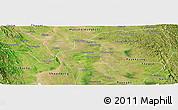 Satellite Panoramic Map of Prome