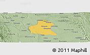 Savanna Style Panoramic Map of Prome