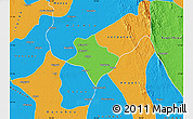 Political Map of Tharrawaddy