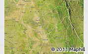 Satellite Map of Tharrawaddy