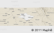 Classic Style Panoramic Map of Tharrawaddy