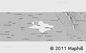 Gray Panoramic Map of Tharrawaddy
