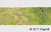 Satellite Panoramic Map of Tharrawaddy