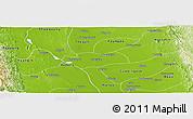 Physical Panoramic Map of Zigon