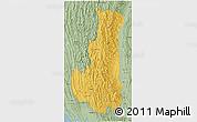Savanna Style 3D Map of Chin