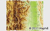 Physical 3D Map of Haka