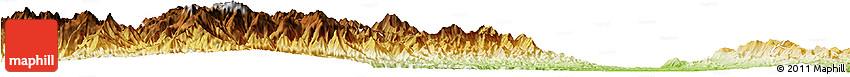 Physical Horizon Map of Haka