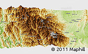 Physical Panoramic Map of Mindat