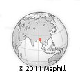 Outline Map of Chin