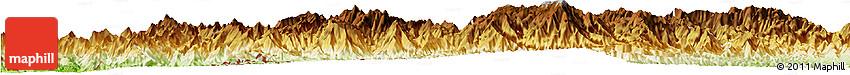 Physical Horizon Map of Thlangtlang