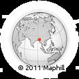 Outline Map of Tiddim