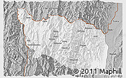 Gray 3D Map of Tonzang