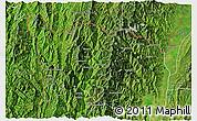Satellite 3D Map of Tonzang