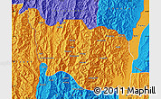 Political Map of Tonzang